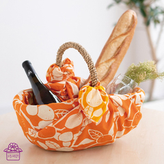 Basket wrapping
