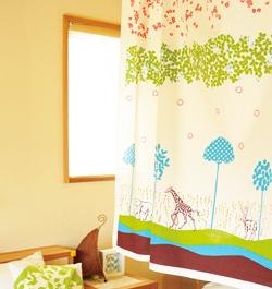 便利なふろしきのカーテン